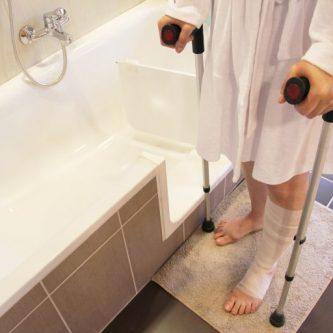 Akadálymentesített fürdőkád